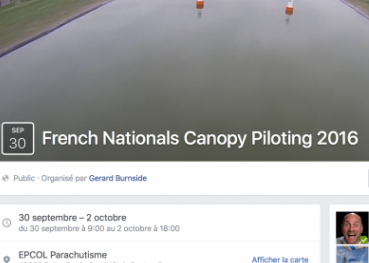 Challenge Canopy Piloting France Open